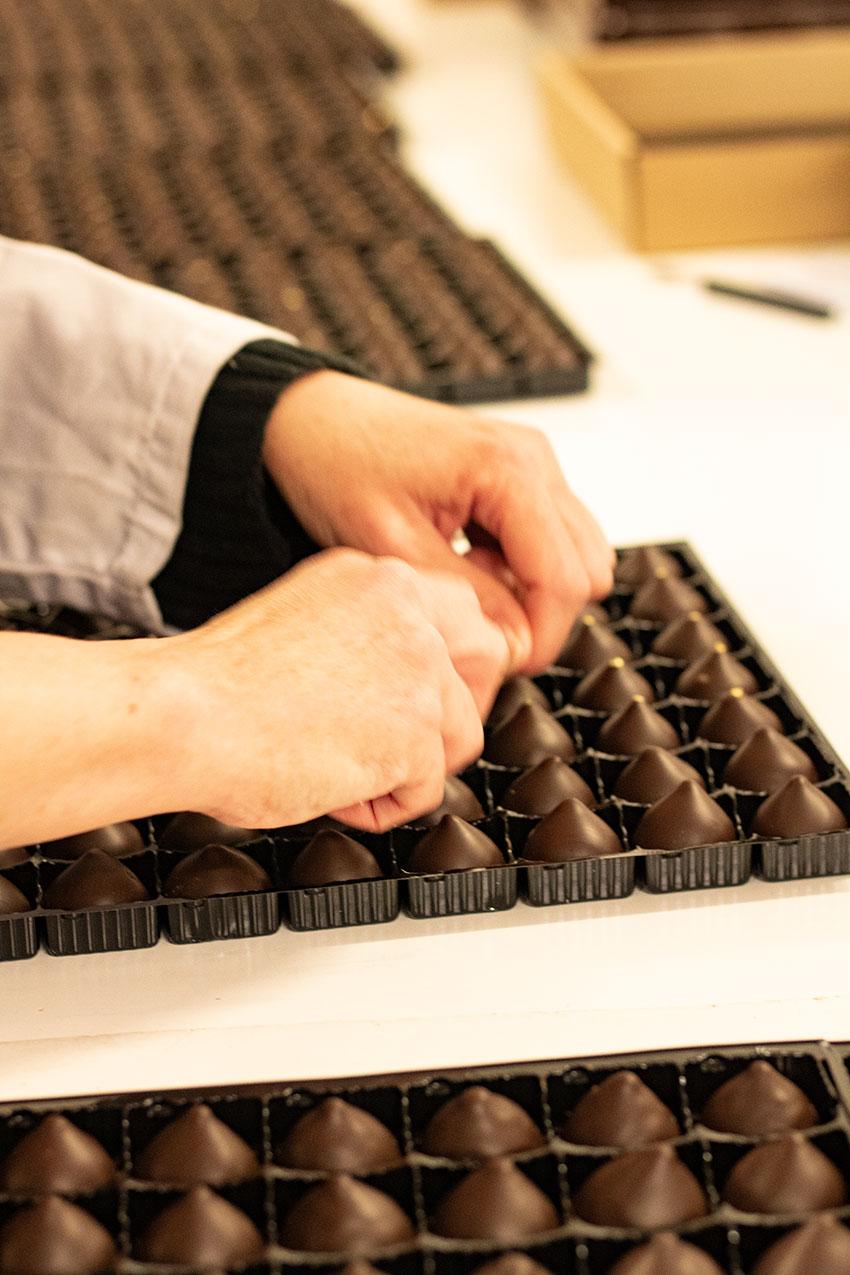 décor chocolats