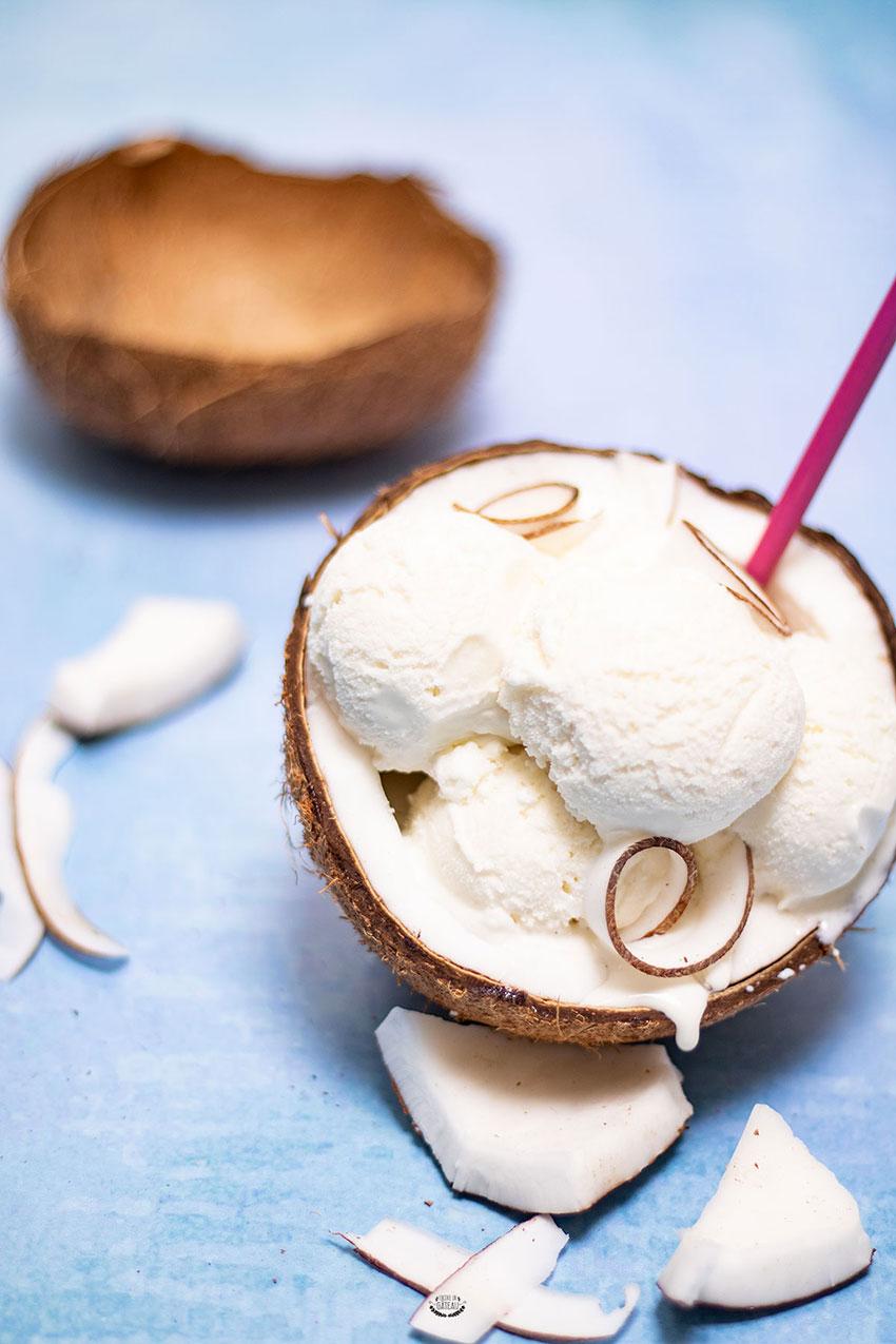 recette glace coco maison