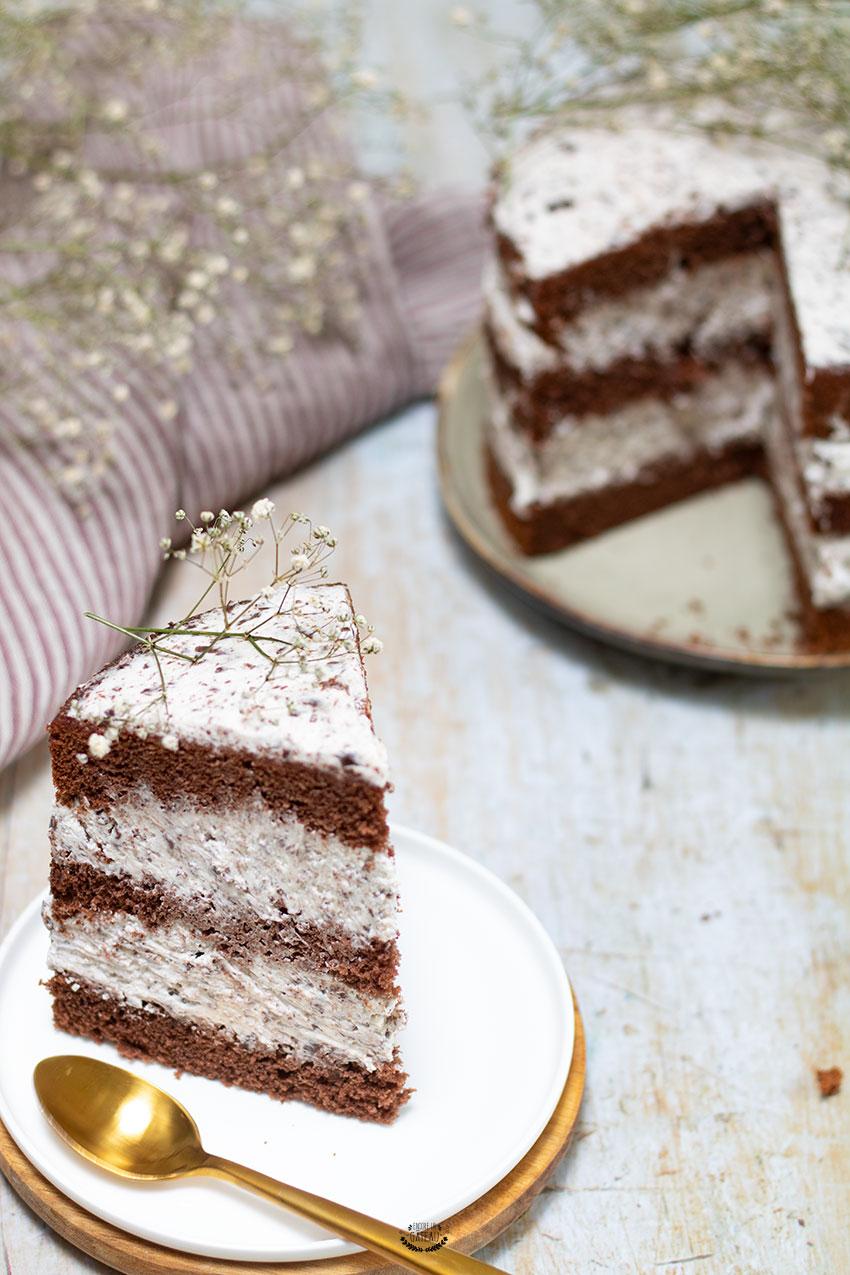 recette nude cake stracciatella