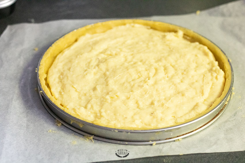 crème pâtissière gâteau basque