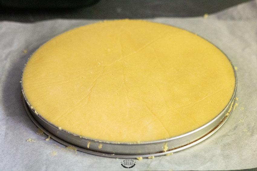 dorure gâteau basque