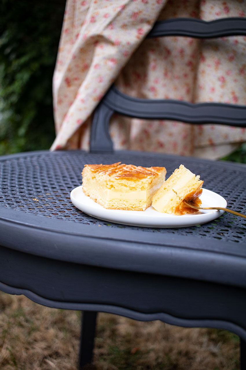 gâteau basque pablo gicquel fou de pâtisserie