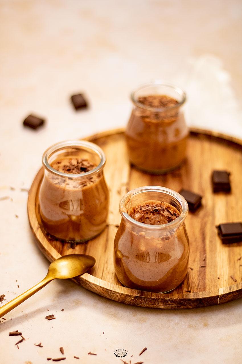 mousse au chocolat vegan deux ingrédients