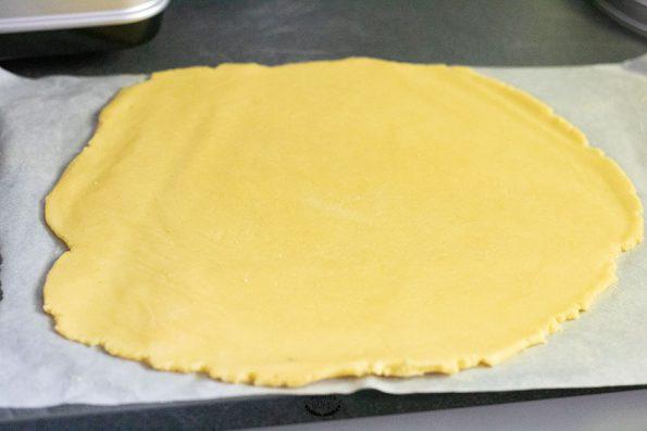 pâte gâteau basque