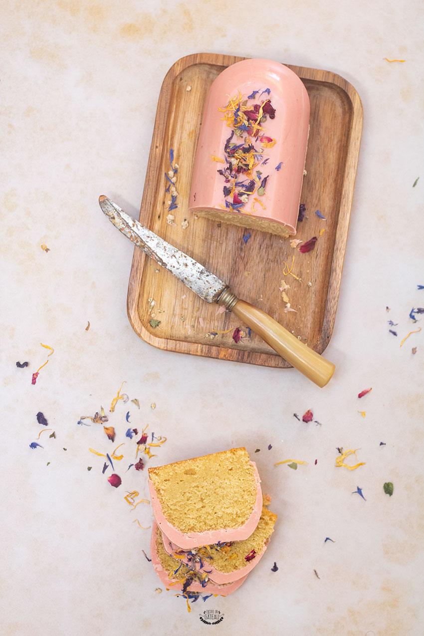 recette cake fleur d'oranger moule ph20