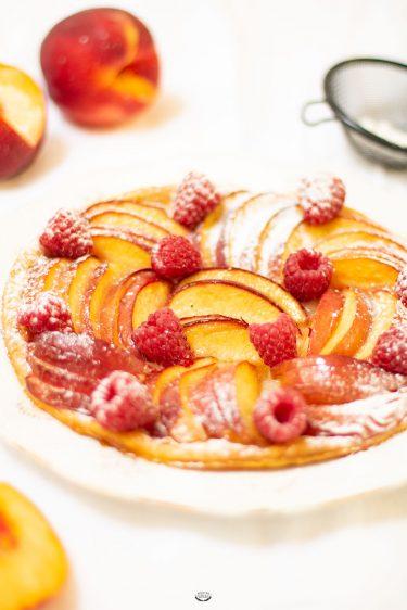 tarte aux nectarines