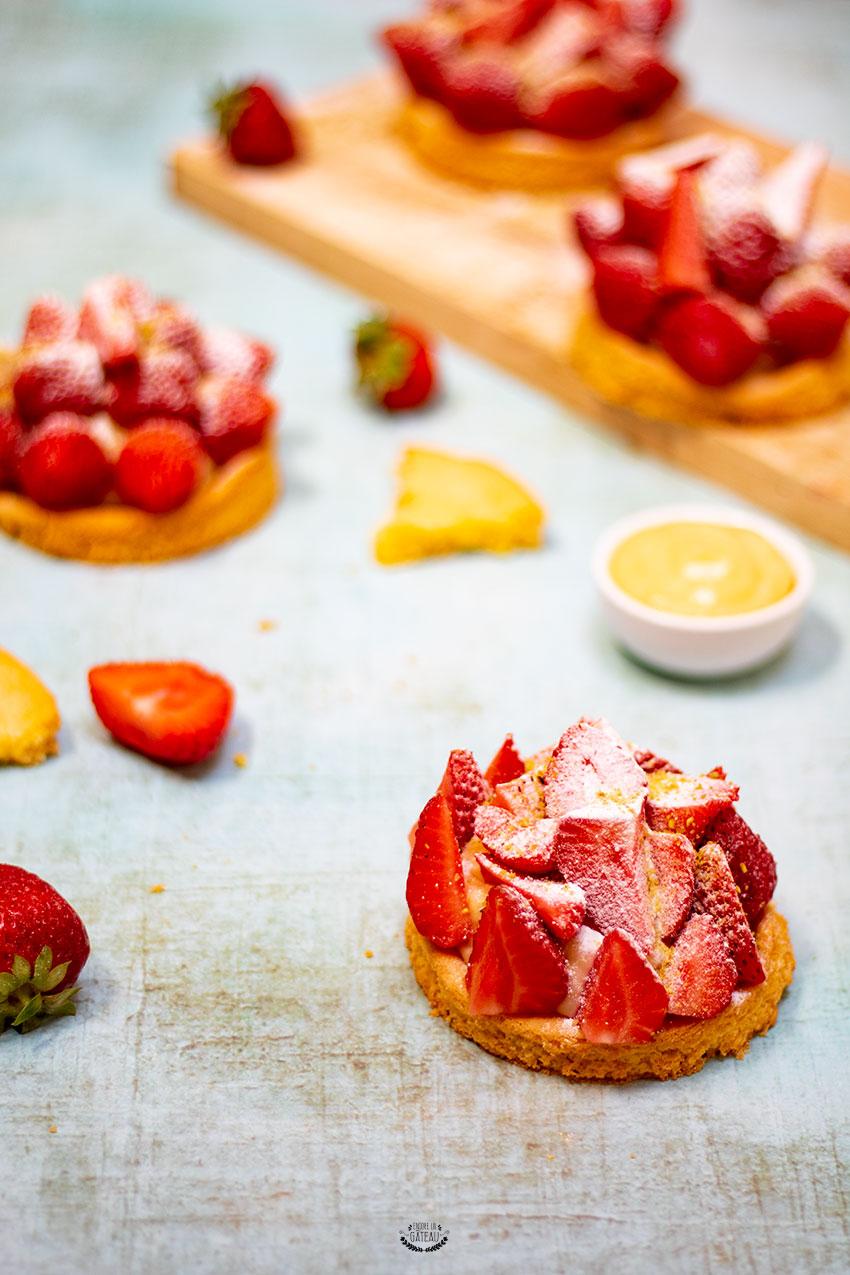 tarte aux fraises lignac