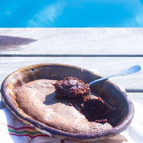 fondant au chocolat sans beurre à l'huile d'olive