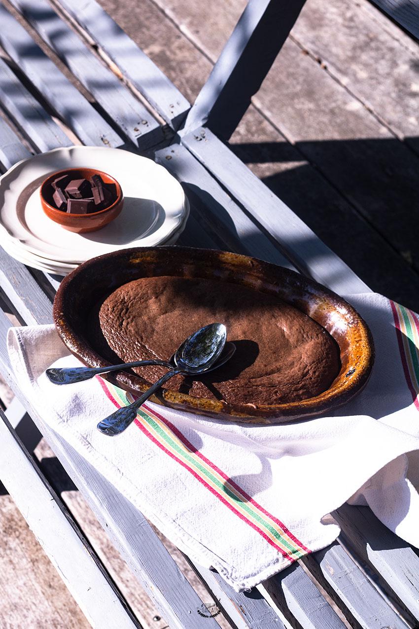 fondant au chocolat à l'huile d'olive