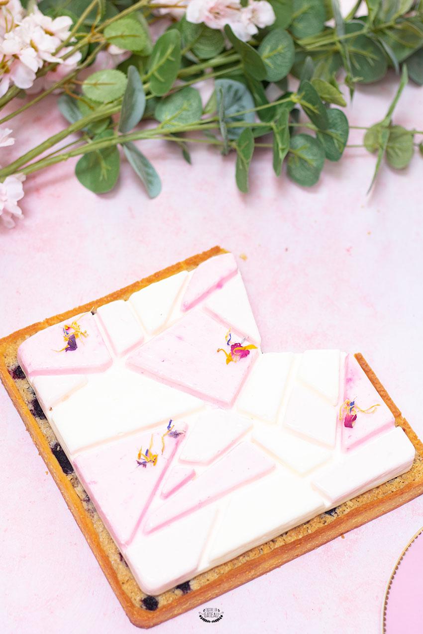 tarte kit liberty silikomart fruits rouges fromage blanc