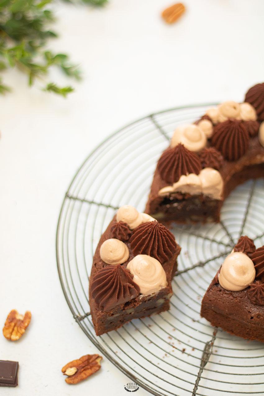 brownie chocolat pécan recette