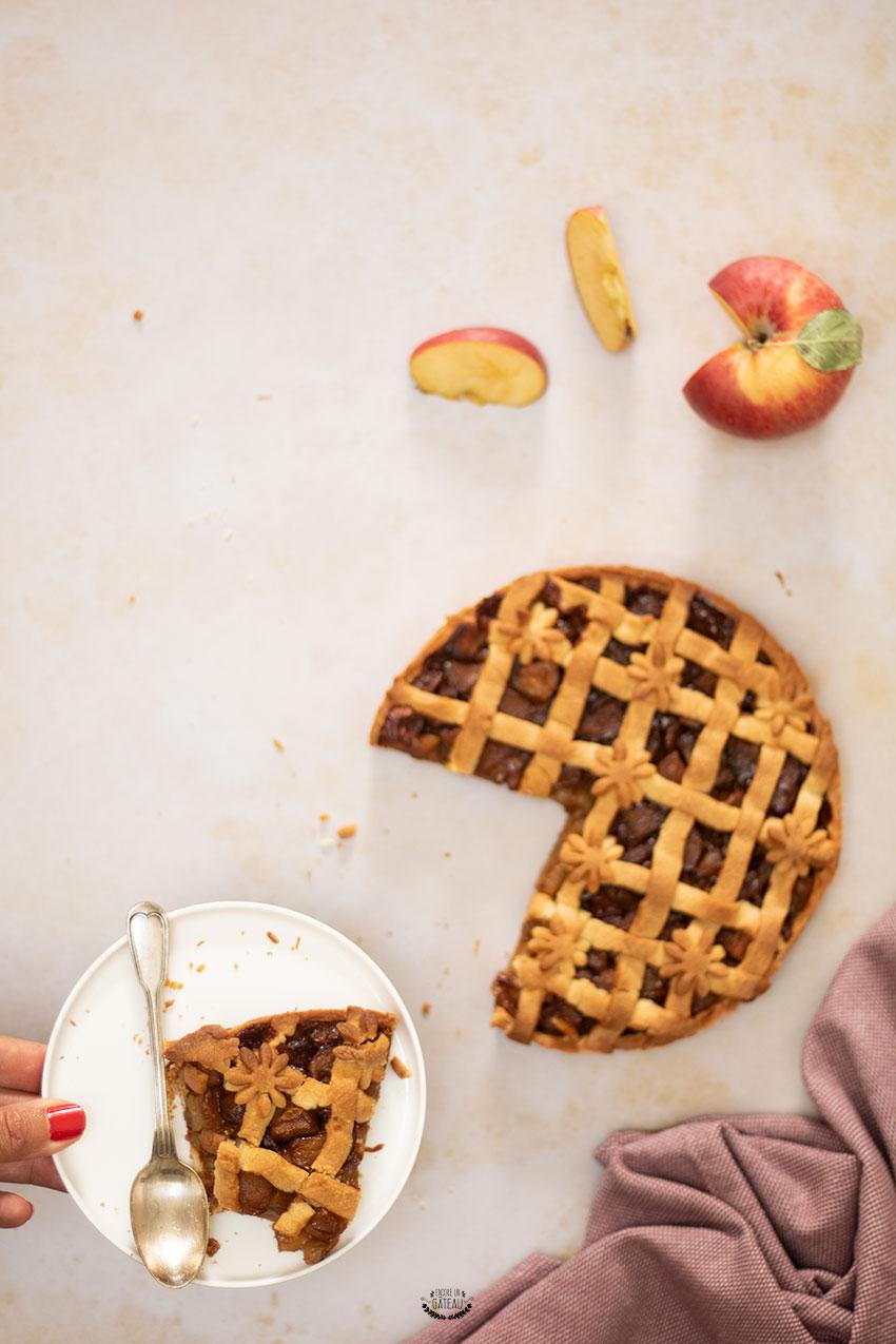 tarte pomme cannelle façon apple pie