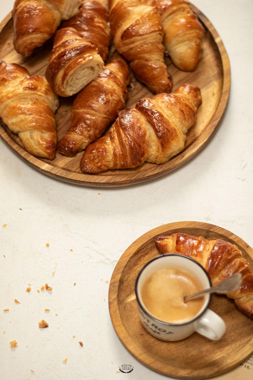 croissants cap pâtissier recette