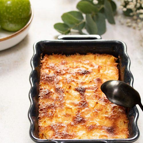 recette gâteau madeleine aux pommes