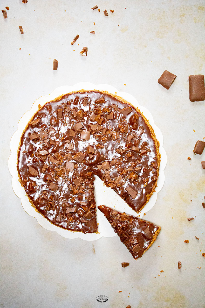 recette tarte aux daims