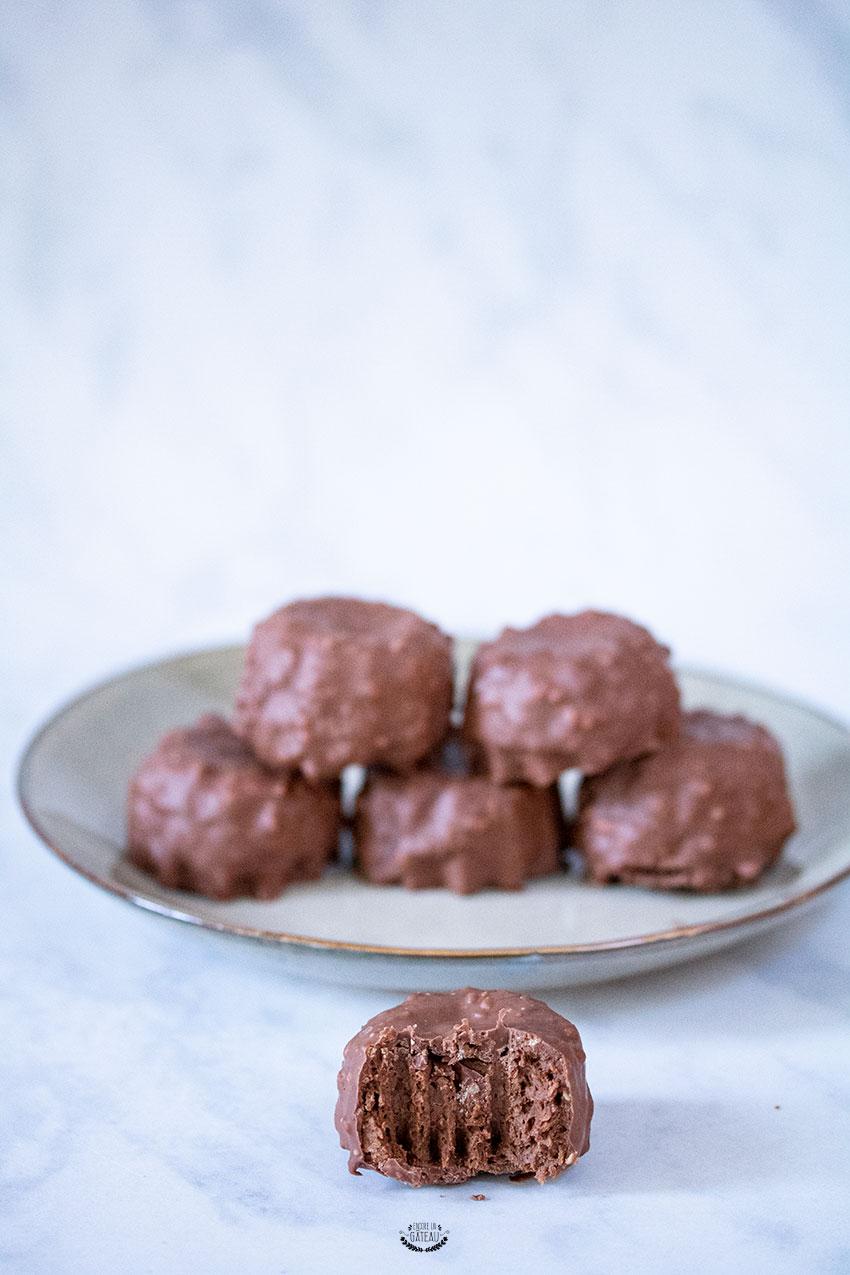rochers maison chocolat praliné