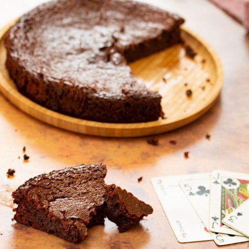 assassin gâteau chocolat caramel