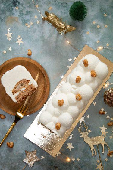 buche vanille cacahuetes caramel felder