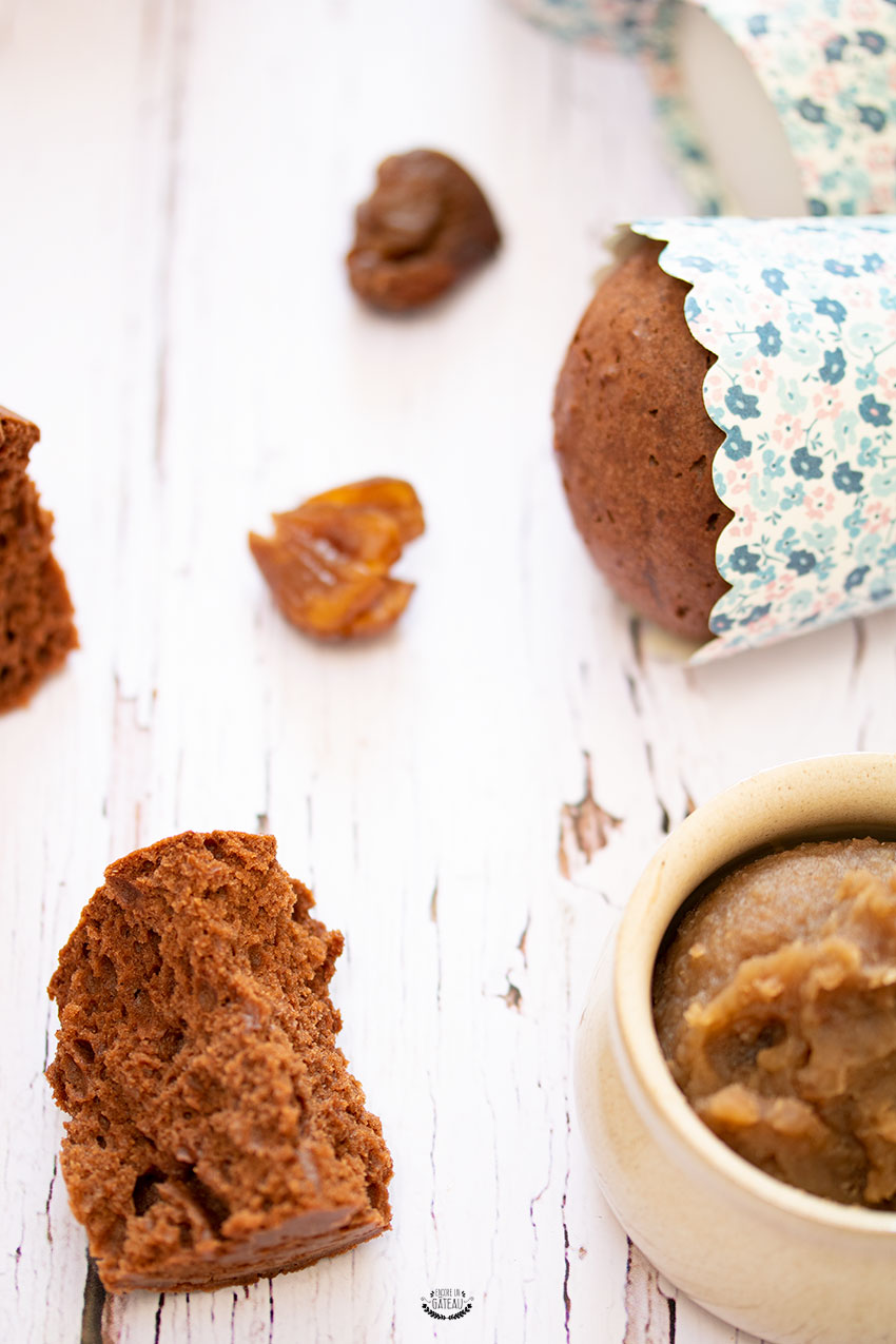 muffins marrons chocolat omnicuiseur