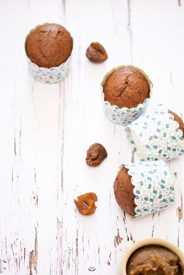 recette muffins chocolat et marrons