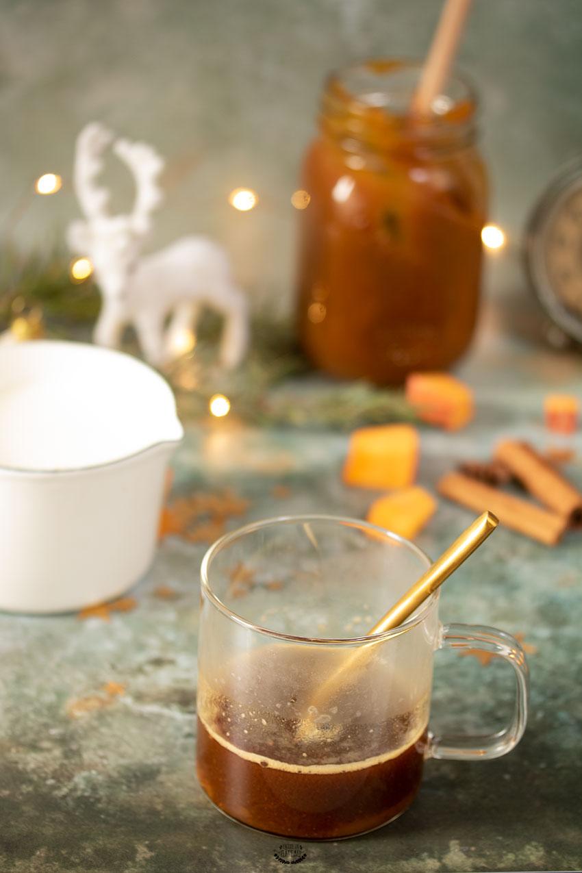 café pumpkin spice latte recette