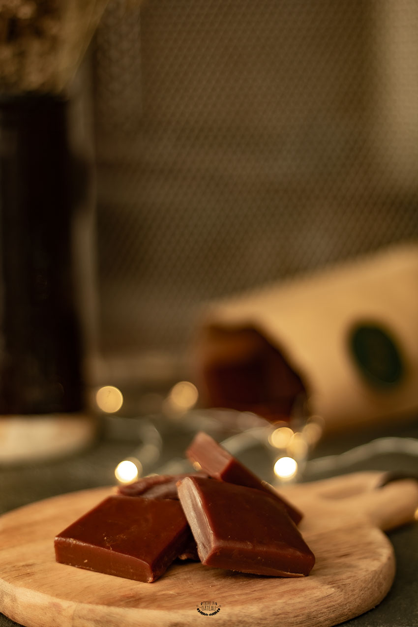 bonbons caramel maison