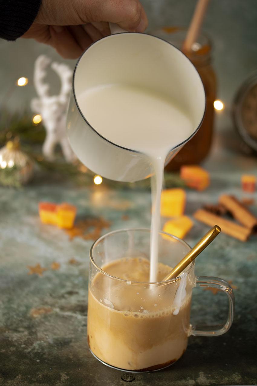 lait pumpkin spice latte starbucks
