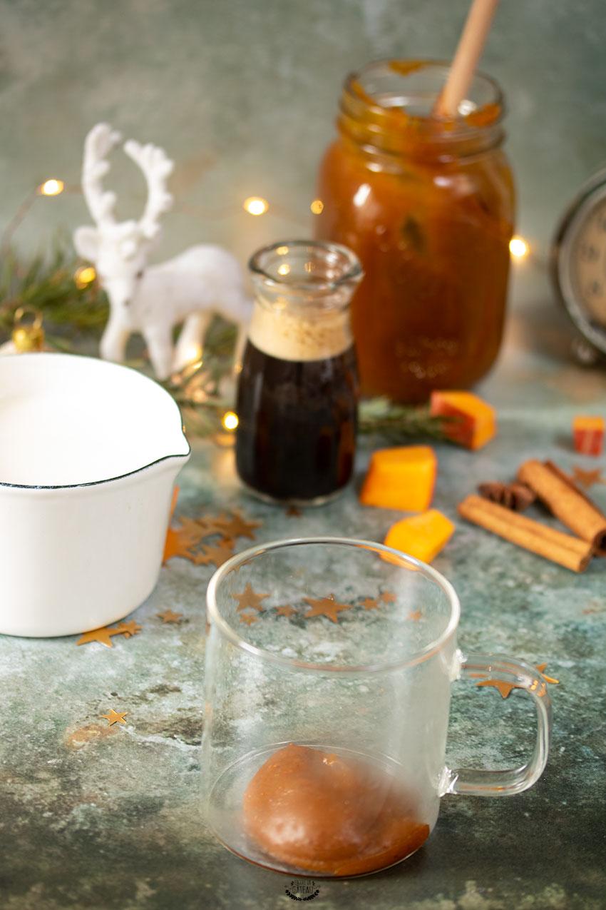 recette pumpkin spice latte façon starbucks