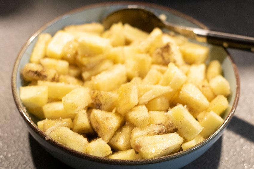 ananas crumble