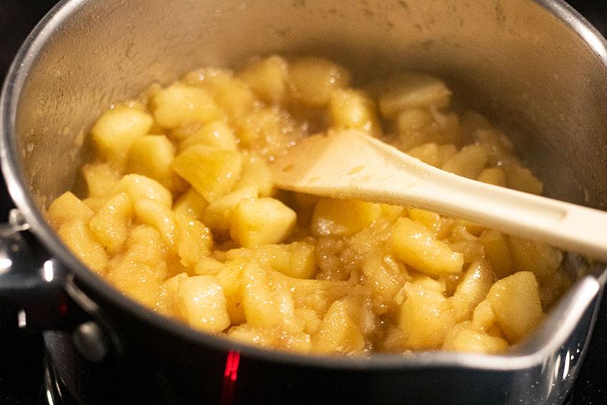 compote pommes galette des rois