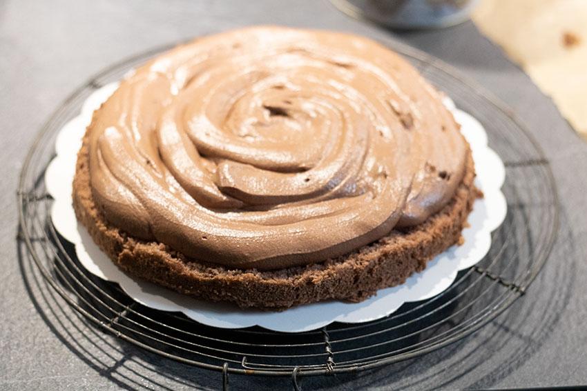 foret noire mousse chocolat