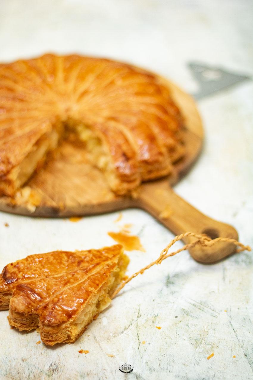 pithiviers galette des rois crème d'amandes