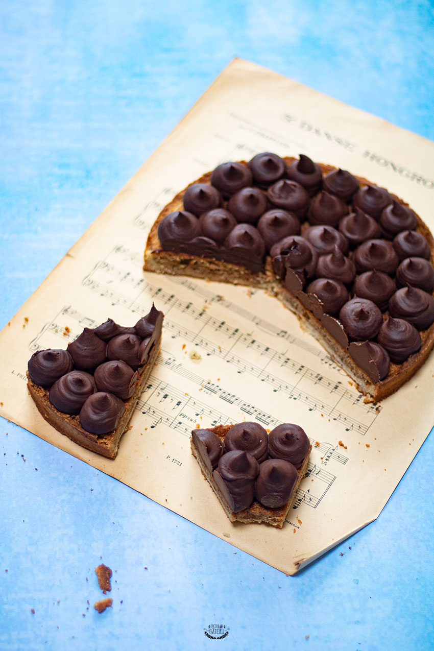 tarte chocolat noisette cap pâtissier
