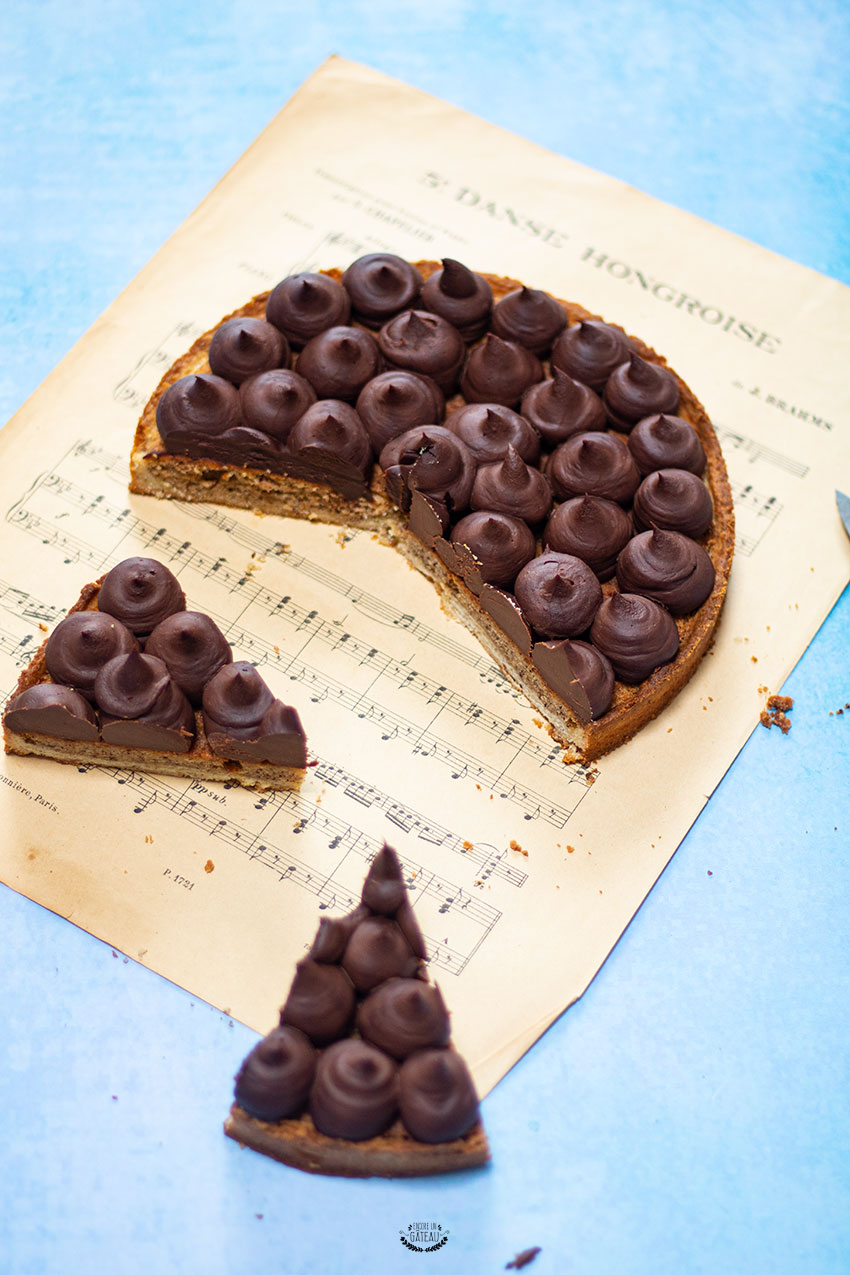 tarte chocolat noisette cap