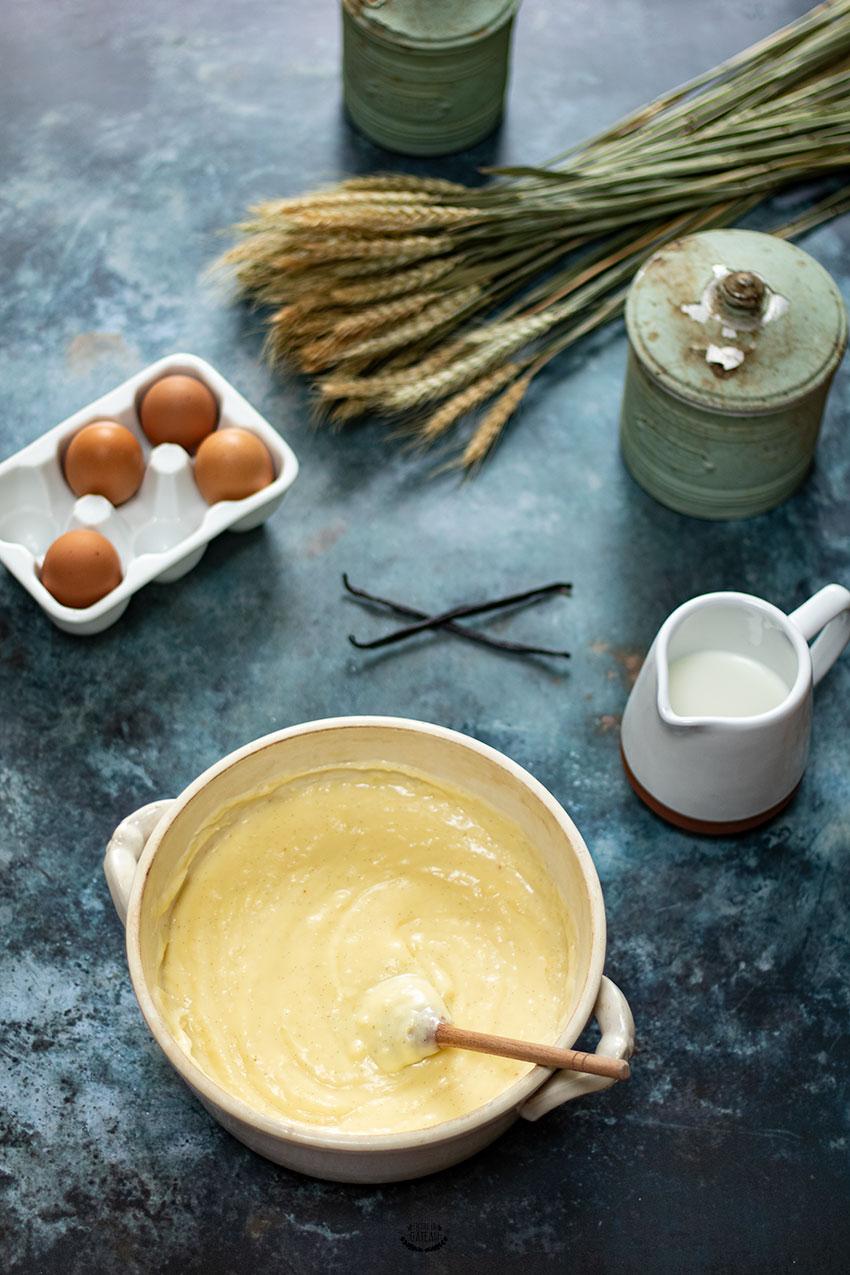 crème pâtissière cap