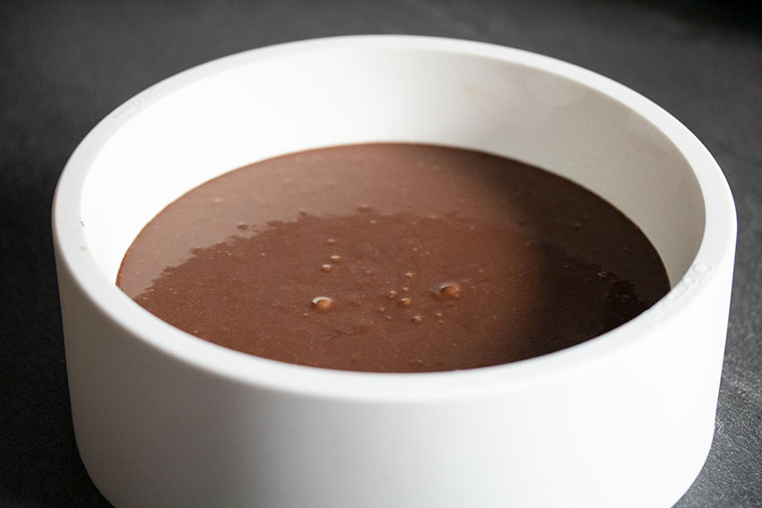fondant chocolat avant cuisson