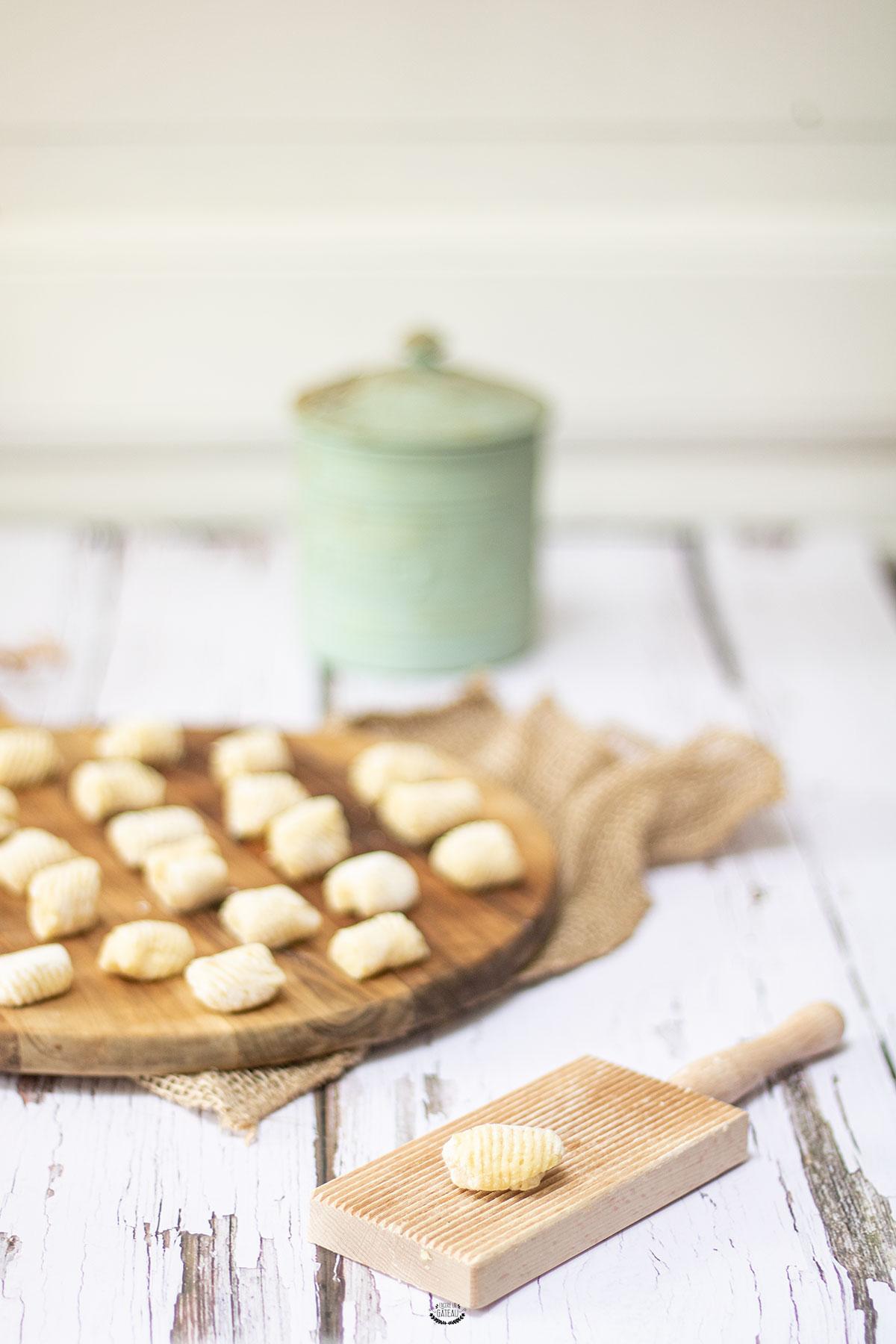 gnocchi pommes de terre maison