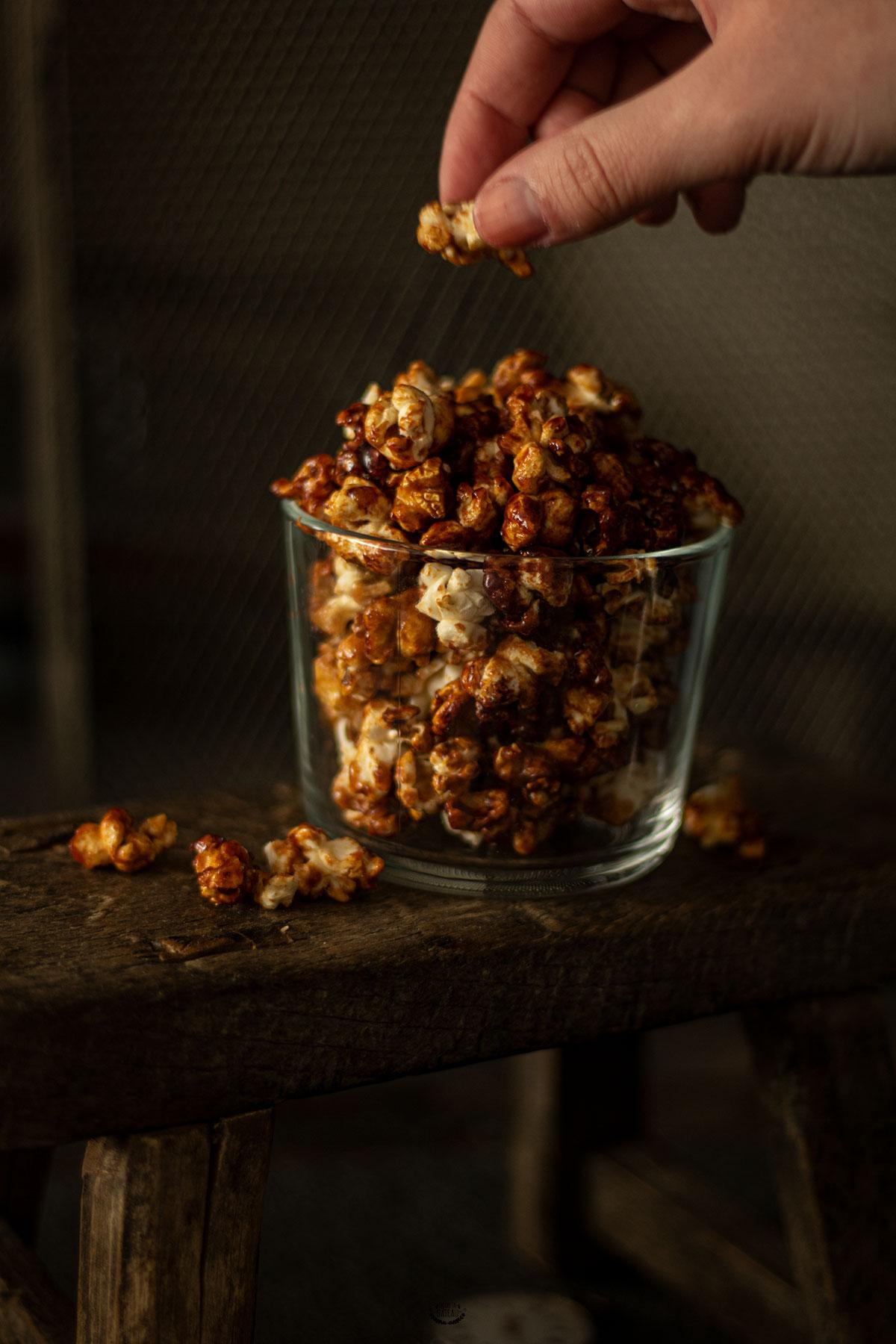 popcorn caramel maison