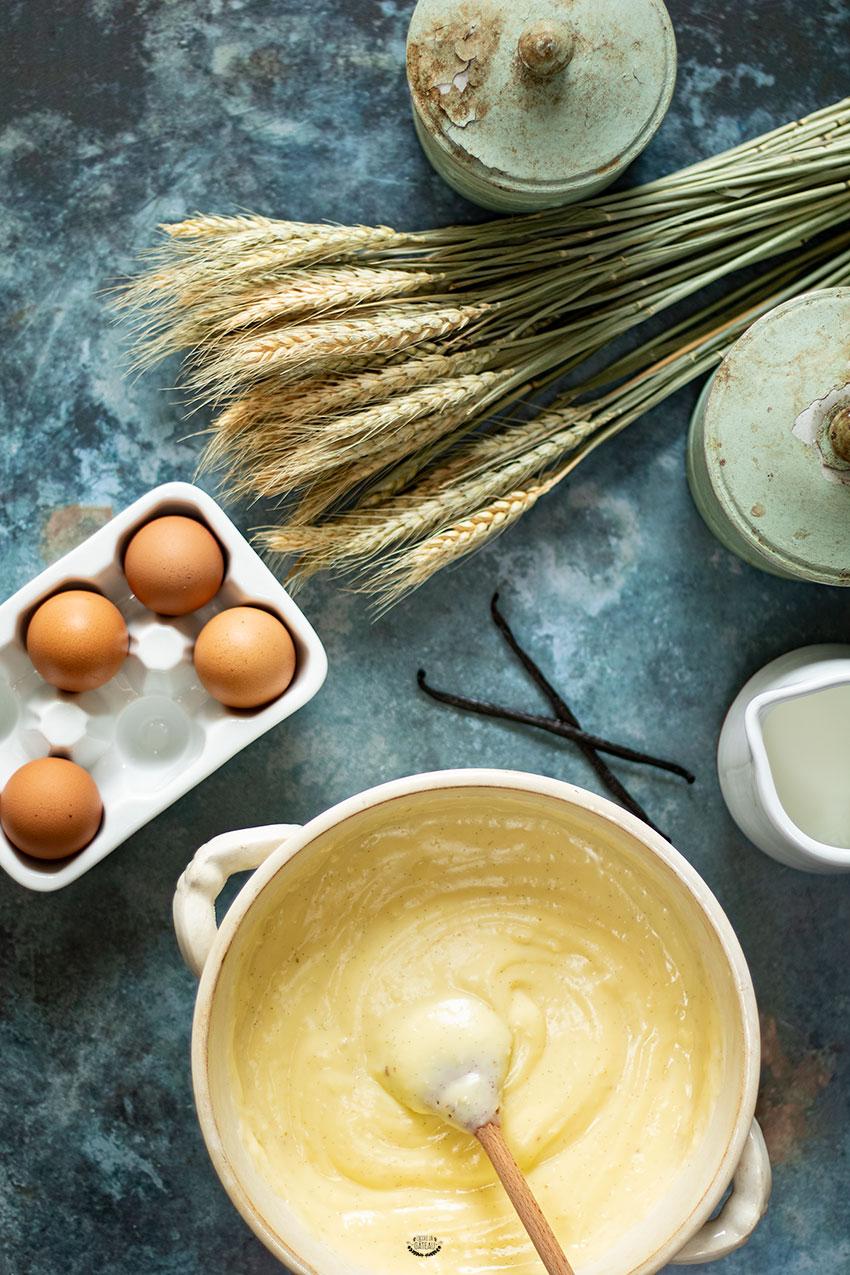 recette crème pâtissière