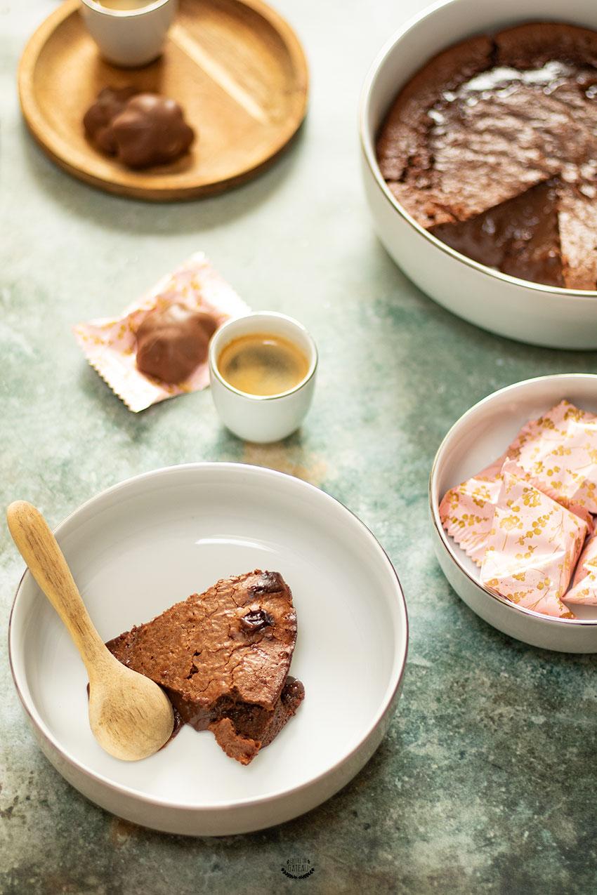 recette fondant chocolat lait concentré sucré