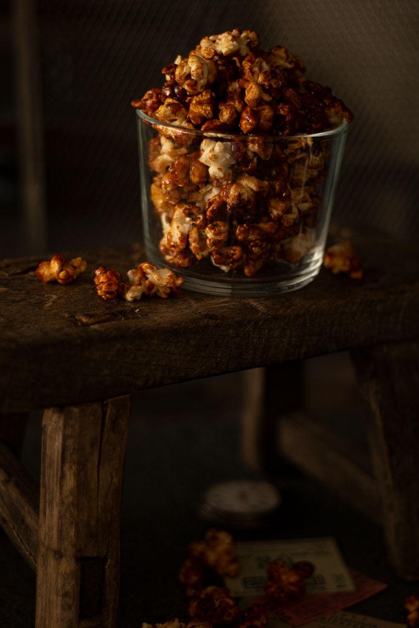 recette popcorn caramel maison
