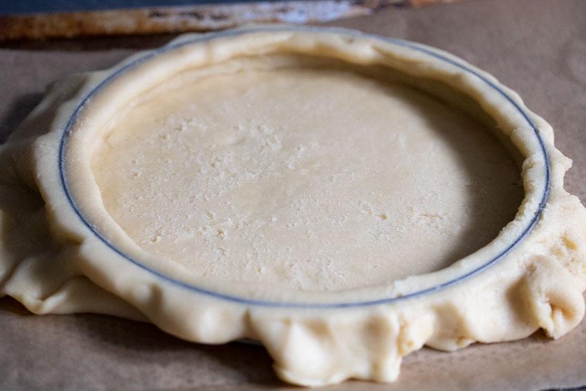 rouleau pate sucrée tarte orange