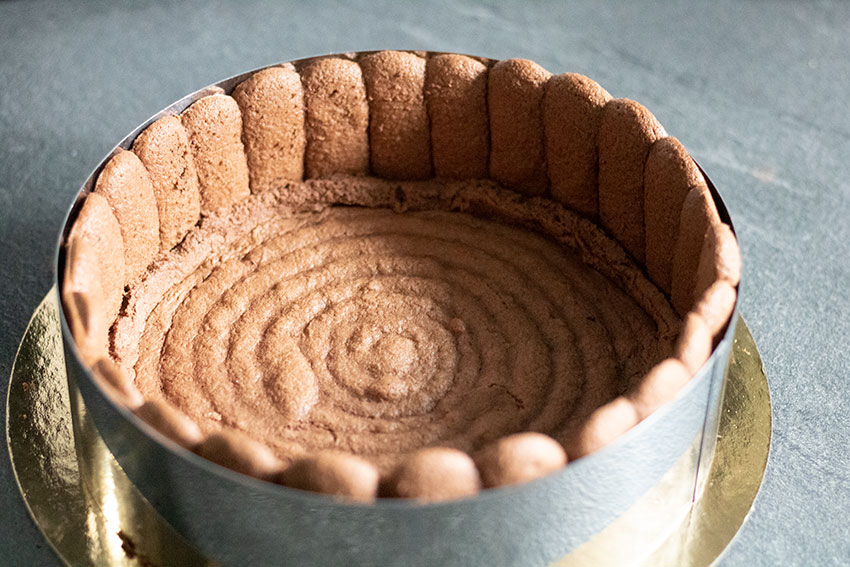 biscuits charlotte vanille chocolat