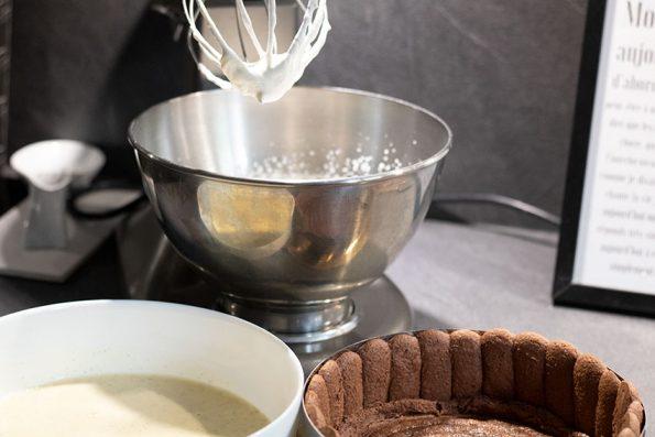 bavaroise charlotte vanille chocolat