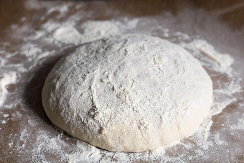pain cocotte avant cuisson