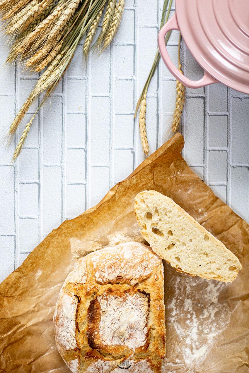 recette facile pain cocotte