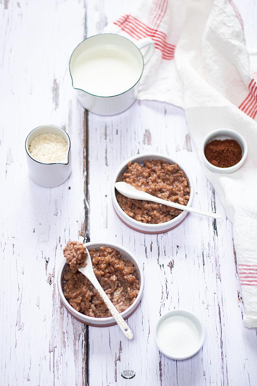 riz au lait chocolat maison