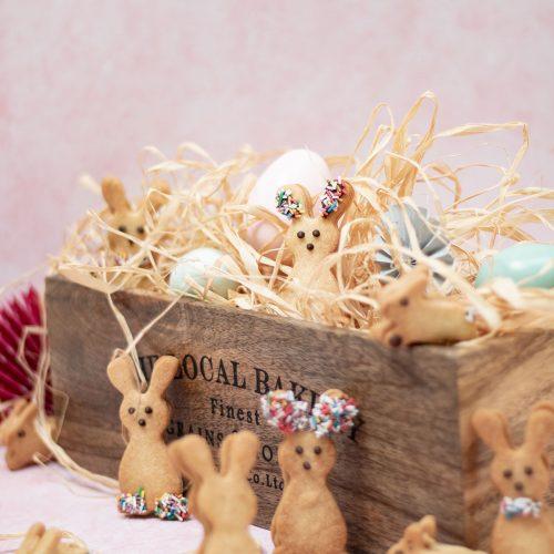 biscuits lapins fourrés dulcey pâques