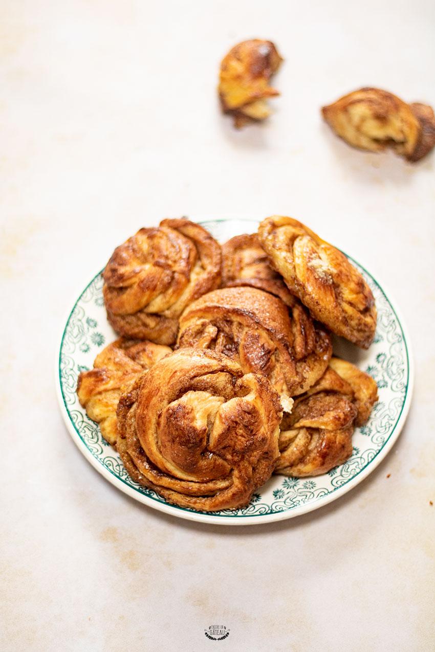 cinnamon roll recette