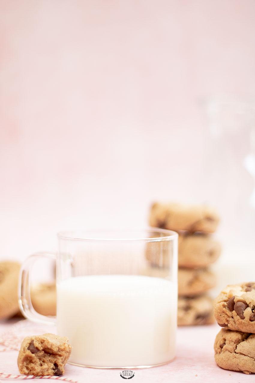 cookies noisettes chocolat sans beurre